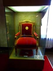 大正天皇使用の椅子