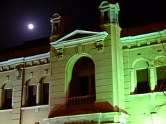 金融資料館(日本銀行旧小樽支店)(ライトアップ)