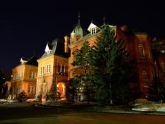 北海道庁旧本庁舎(ライトアップ)