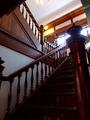 [古民家]太宰治記念館斜陽館階段