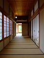 [古民家]藤田記念庭園和館畳廊下