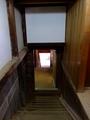 [古民家]通り土間から下ノ倉へ降りる階段@旧中村家住宅