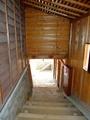 [古民家]荷揚場へ降りる階段@旧中村家住宅
