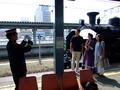 SL函館大沼号と記念撮影