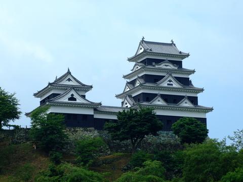 大洲城天守及び台所櫓