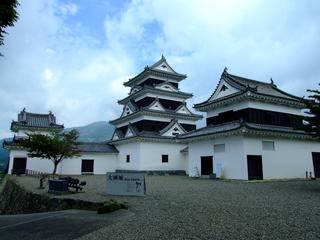 大洲城天守及び高欄櫓・台所櫓
