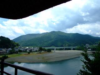 臥龍山荘不老庵の眺め