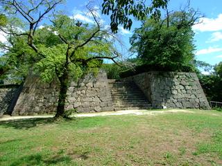 宇和島城櫛形門石垣