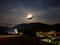 大洲城の月夜