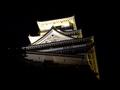 [城郭][夜景]高知城天守(ライトアップ)