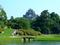 後楽園と借景の岡山城天守