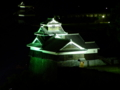 [夜景][城郭]熊本城飯田丸五階櫓ライトアップ