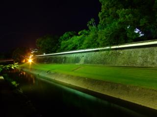 熊本城長塀ライトアップ
