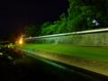 [夜景][城郭]熊本城長塀ライトアップ