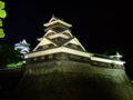 [夜景][城郭]熊本城宇土櫓ライトアップ