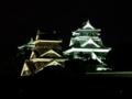 [夜景][城郭]熊本城天守群ライトアップ