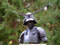 [銅像]仙台博物館前の伊達政宗胸像