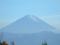新府城から眺めた富士山