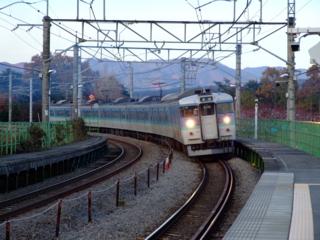 中央本線@新府駅
