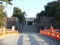 [寺社]武田神社入口