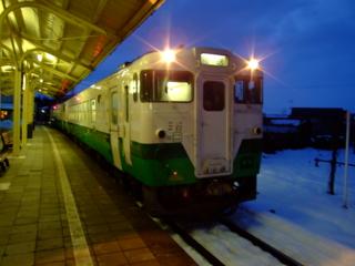 只見線@七日町駅