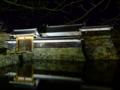 [夜景][城郭]松本城太鼓門枡形ライトアップ
