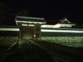 [夜景][城郭]松本城黒門枡形ライトアップ
