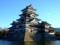 早朝の松本城天守群