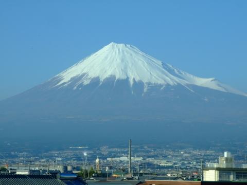 富士山@東海道新幹線の車窓から