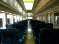 [鉄道]リゾートしらかみ「橅編成」車内