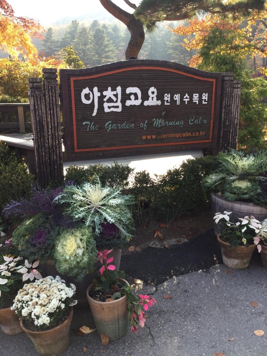 韓国旅行 アチムゴヨ樹木園