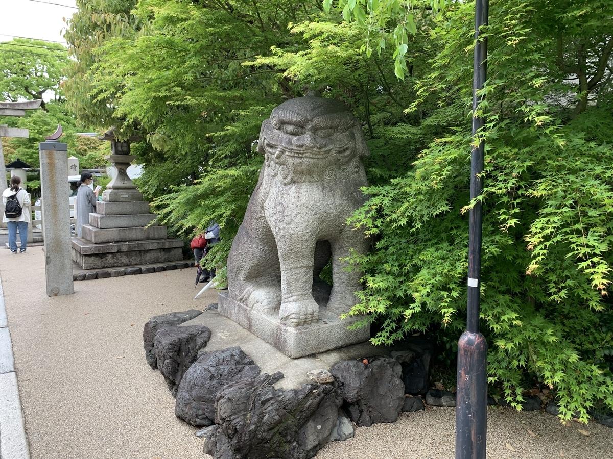 晴明神社 京都 狛犬
