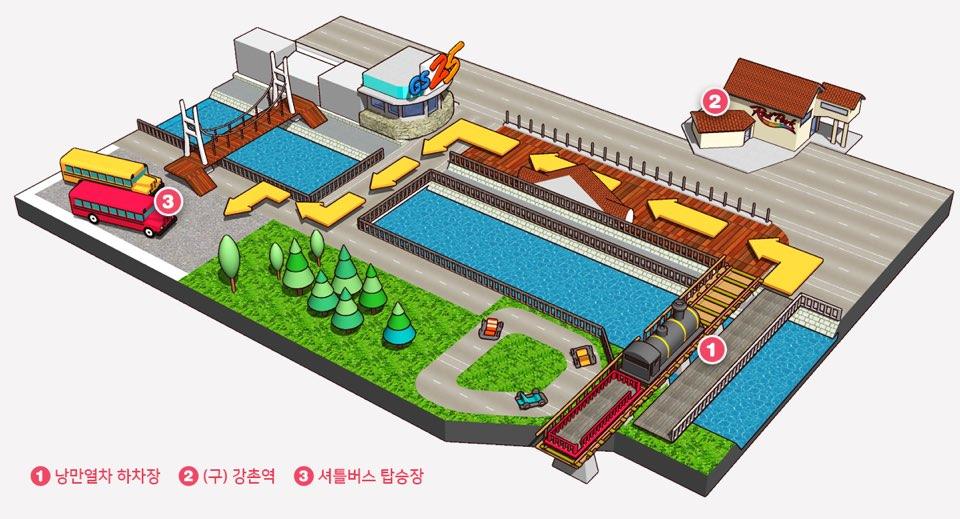 江村レールバイク シャトルバス 地図