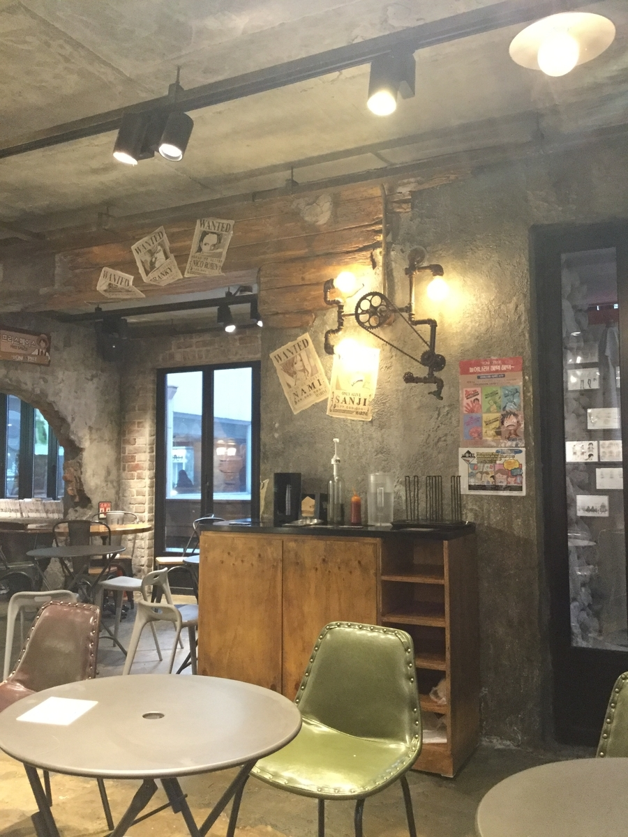 ワンピースカフェ 韓国 Cafe de ONE PIECE