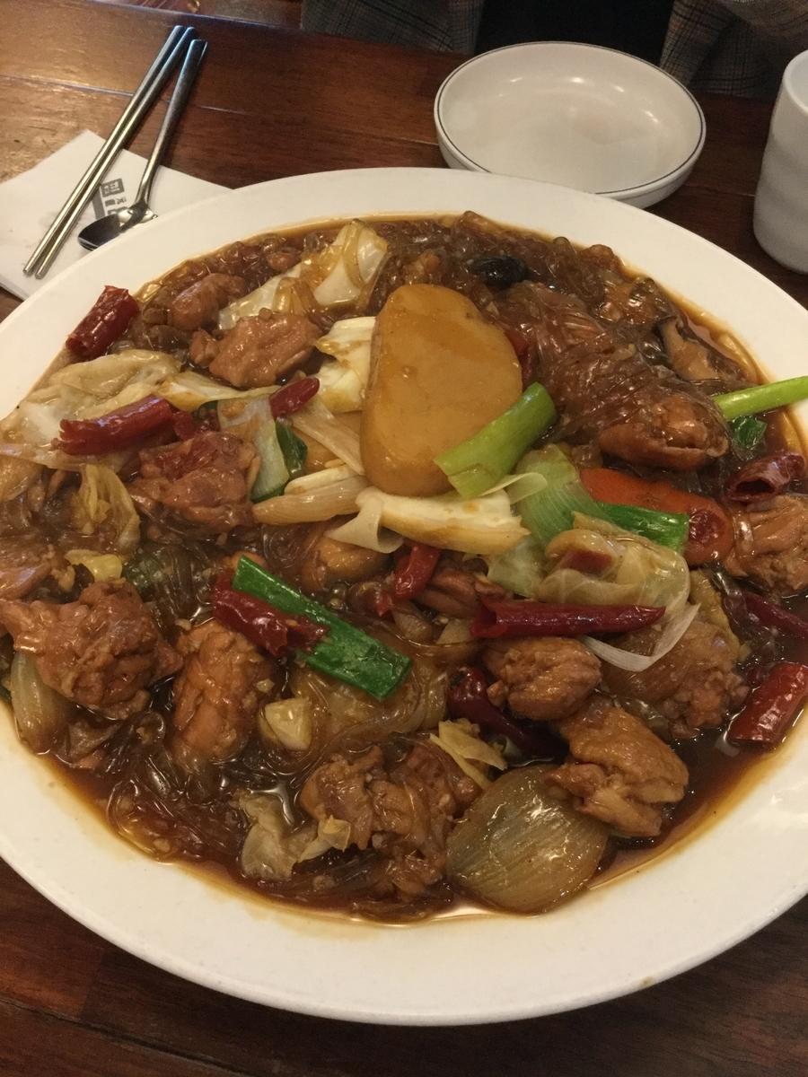 韓国料理 おすすめ チムタク
