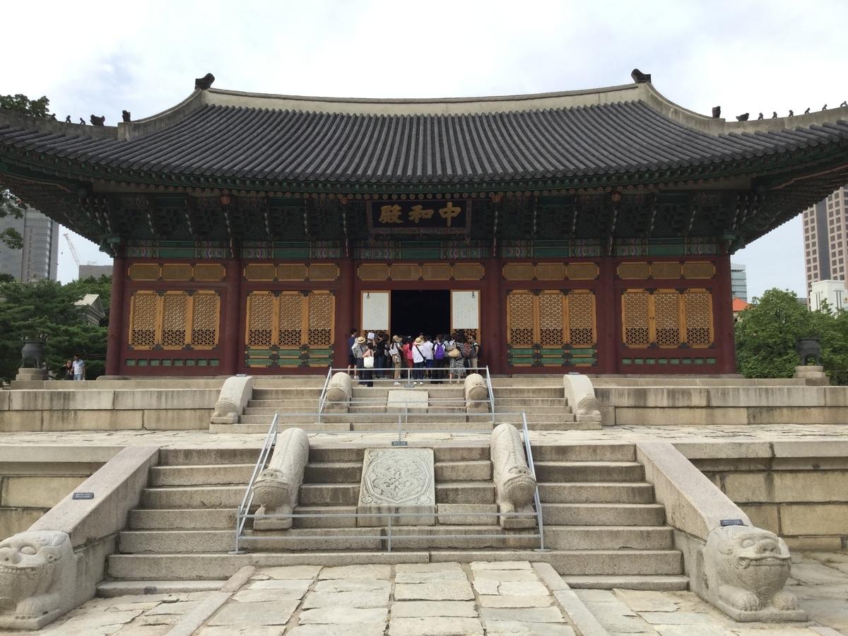 韓国 ソウル 観光スポット 徳寿宮 トクスグン