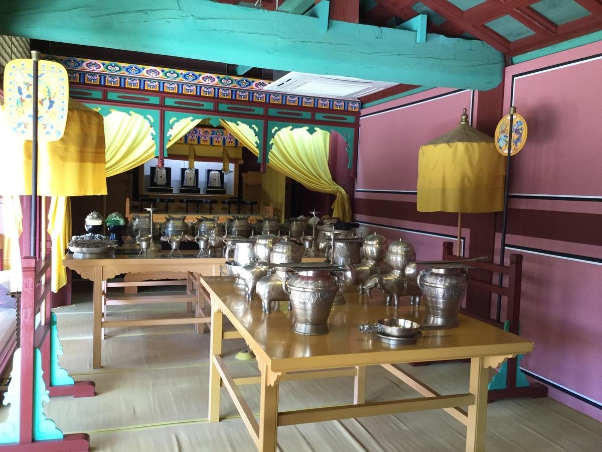 韓国 観光スポット ソウル チョンミョ 宗廟