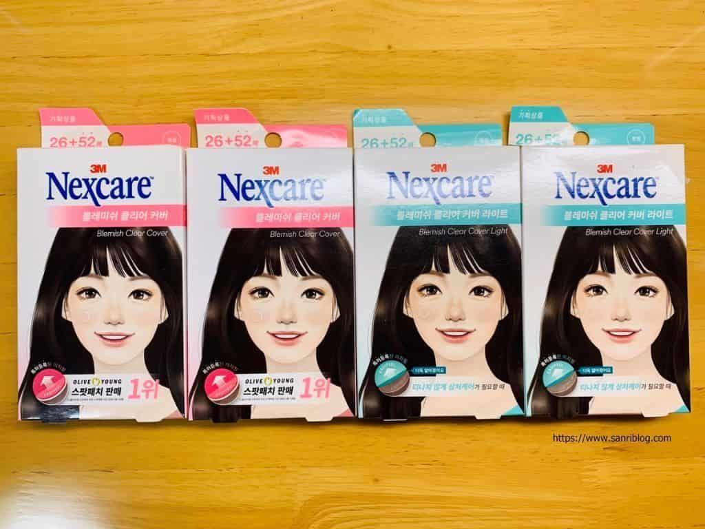 ネクスケア Nexcare ニキビパッチ 韓国 ニキビ