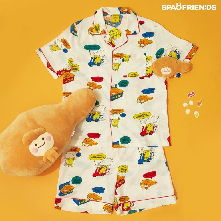 韓国 SPAO パジャマ チキン
