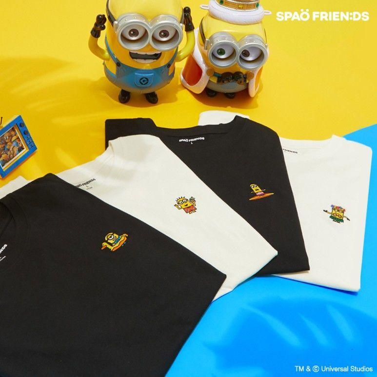 韓国 SPAO  コラボTシャツ ミニオンズ