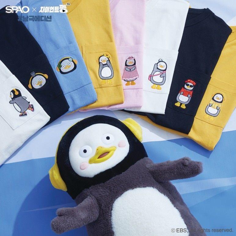 韓国 SPAO  コラボTシャツ ペンス