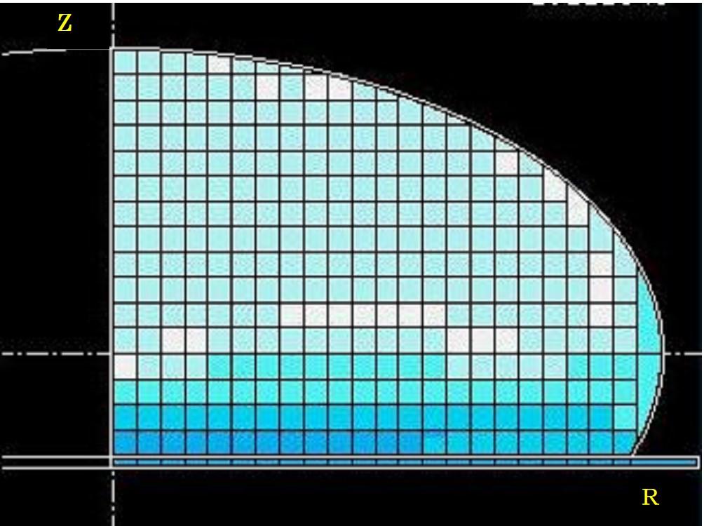 パン生地冷凍のコンピューターシミュレーション