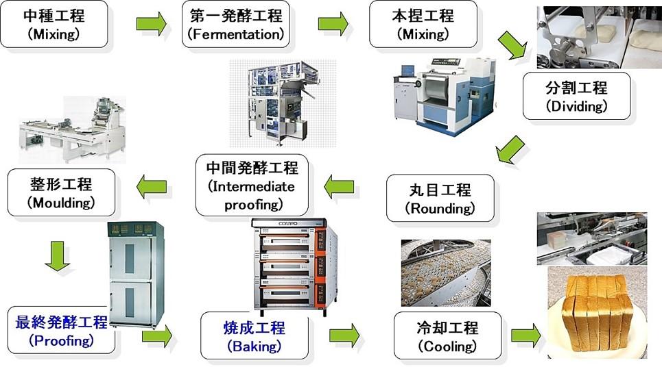 製パン工程