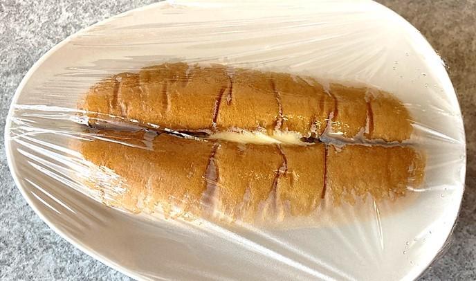 塩パンあんマーガリンサンド