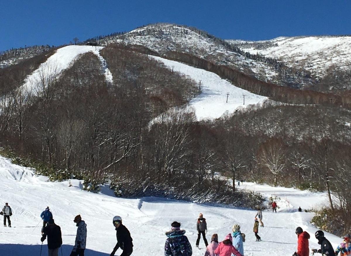 12月末のかぐらスキー場