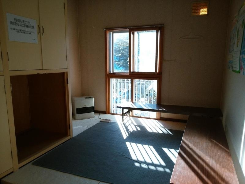 ヤマボクワイルドスノーパーク更衣室