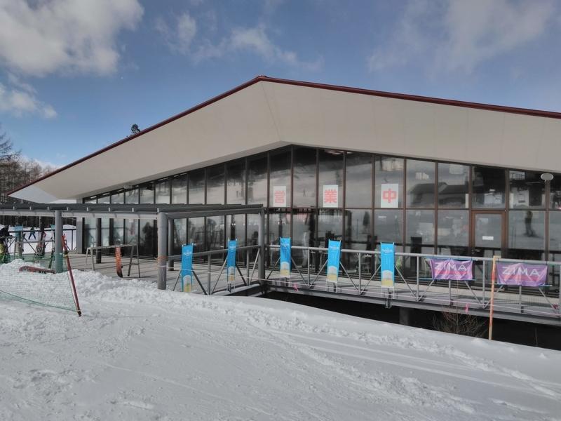 丸沼高原スキー場ゲレ食