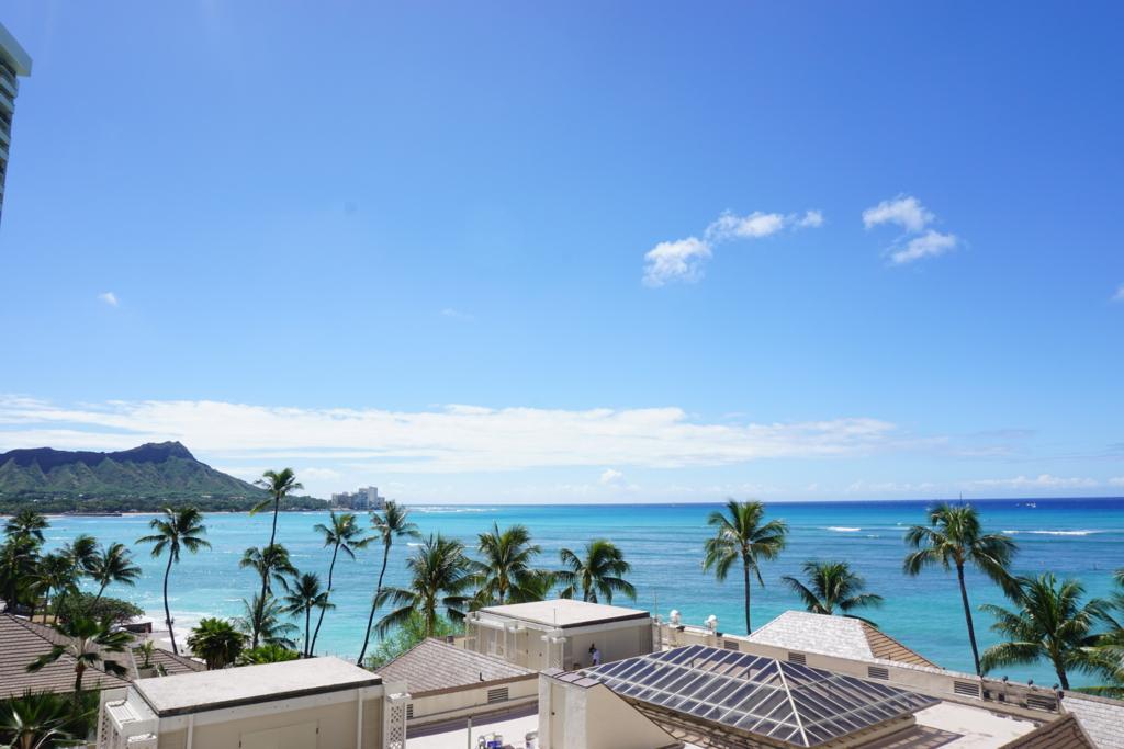 ハレクラニホテル_Ocean Front_バルコニーからの眺め_ILCE-5100