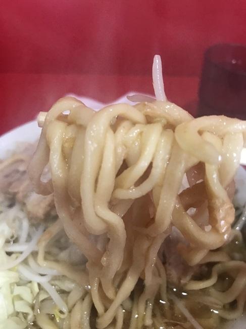 札幌二郎の麺