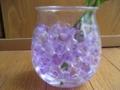 紫と透明だけをセレクトしてみました。タピオカみたいにプニョプニョ